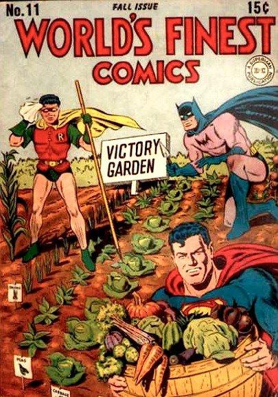 Victory Gardening Superheroes